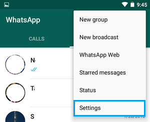 how to change whatsapp number in android iphone phone