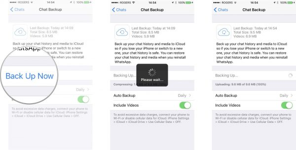 how to backup whatsapp messages & chat iphone android to pc