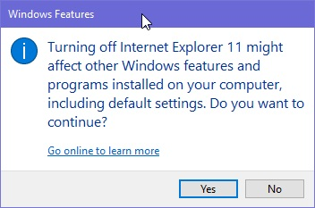 how to uninstall internet explorer windows 10 and reinstall ie 11