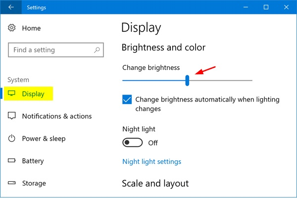 How to adjust the brightness on windows 10 pc keyboard, laptop