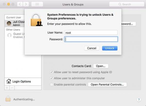 How to delete users on mac, standard, group, admin account
