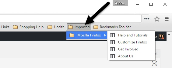 Import bookmarks chrome pc android mac html, how to
