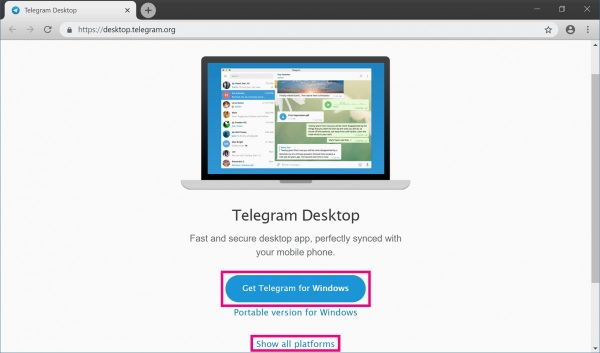 How to install telegram on pc desktop web, download telegram