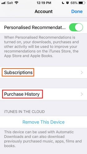 How to find purchased apps in iPhone android ios 11 12 google play