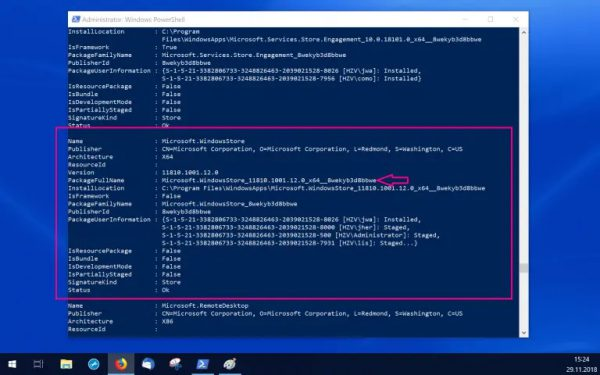 Reinstall windows store windows 10 powershell, enable reset how to