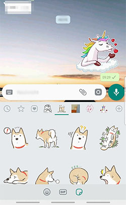 How to get WhatsApp stickers Android iPhone IOS use download