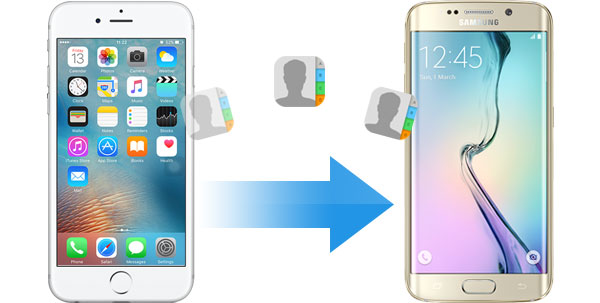 How to transfer contacts from iphone to android without computer
