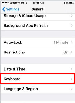 Change language on iPhone keyboard IOS iPad general, how to